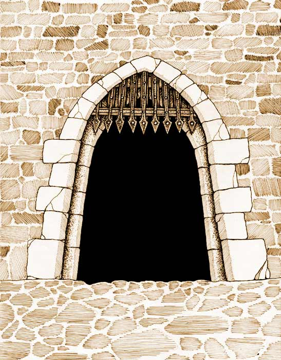 Carnifexian_castle_gate by Bard Algol