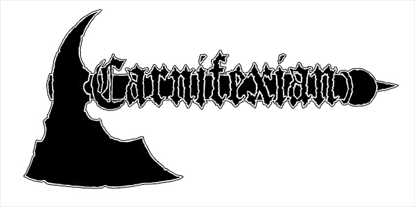 Carnifexian logo axe dungeon synth bard algol