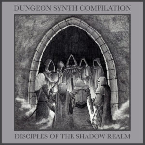 Dungeon Synth Compilation Cover by Bard Algol of Cernunnos Woods