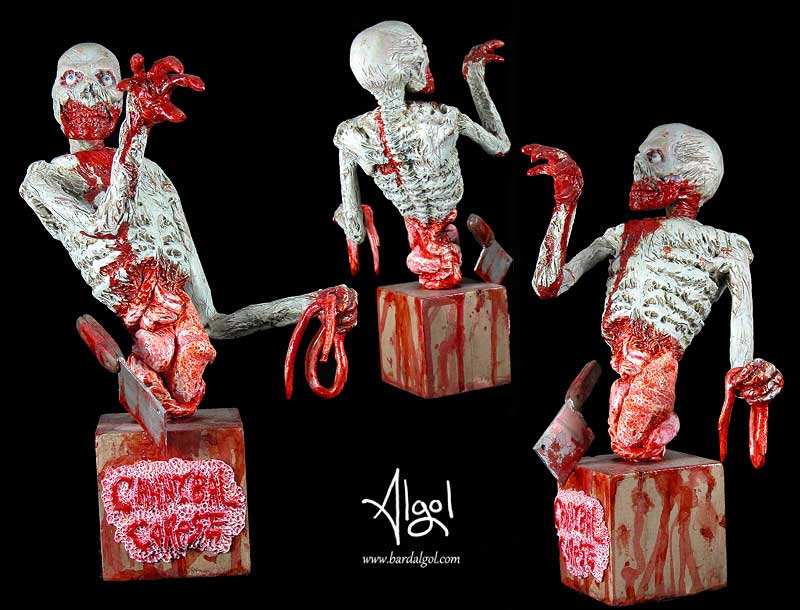 Cannibal Corpse Zombie Bust by Bard Algol