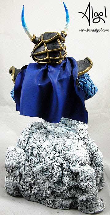 Dragonlance Dragon Highlord Kitara Bust Statue by Bard Algol