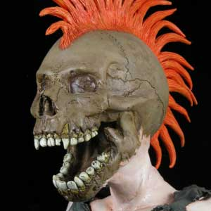 The Exploited Screaming Skull thumbnail