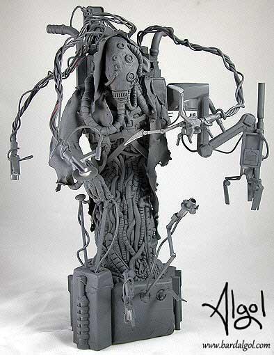 Warhammer 40K Fabricator General Poseable Statue by Bard Algol
