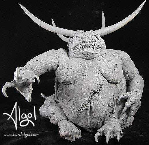 Warhammer Great Unclean One Statue by Bard Algol