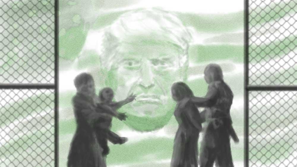 Zero Tolerance by Bard Algol trump seperating families propaganda baby jails