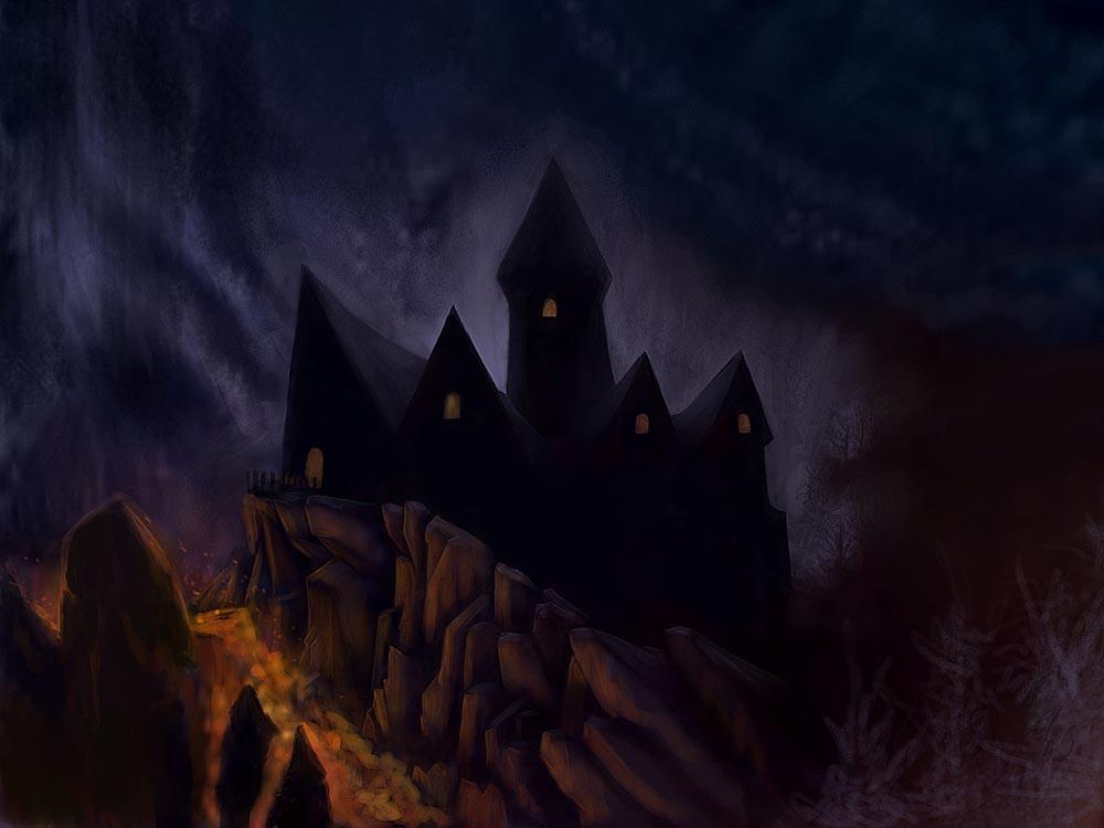 Brimstone Castle by Bard Algol